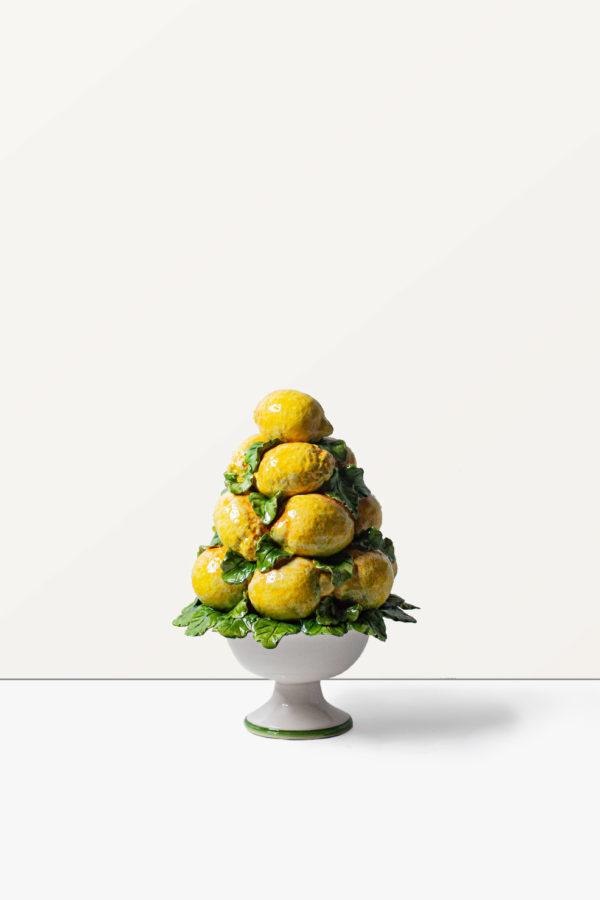 Trionfo limoni in ceramica