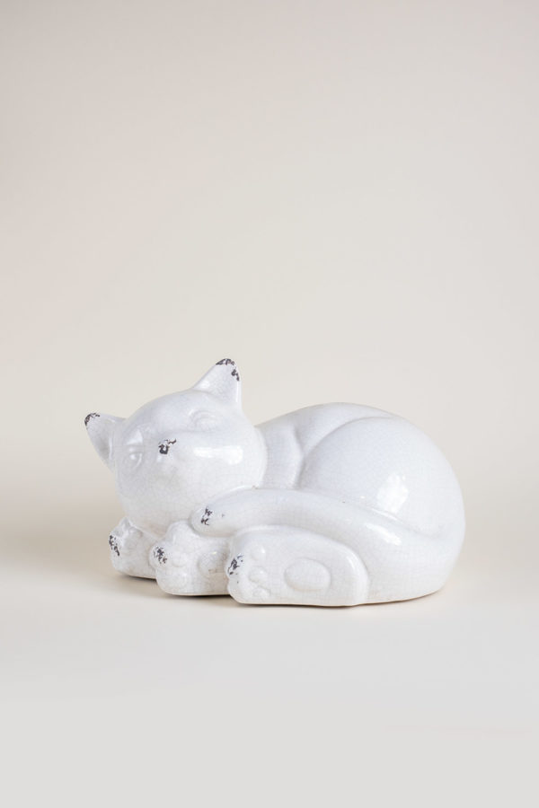 Gattino in ceramica grande