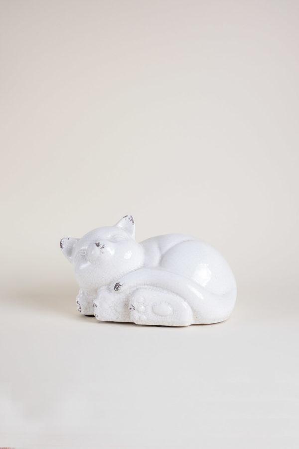 Gattino in ceramica medio