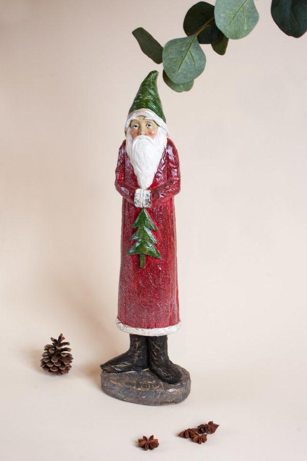 Babbo Natale con abete