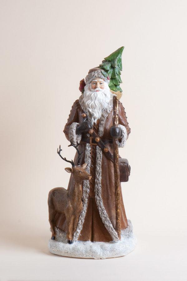 Babbo Natale viandante